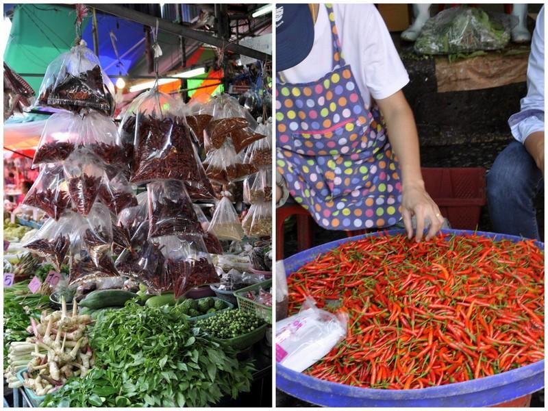 Piment marche de bangkok