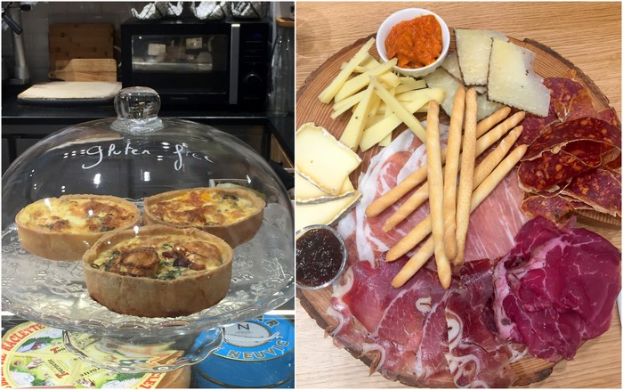 Mademoiselle amande vincennes planche charcuterie fromages