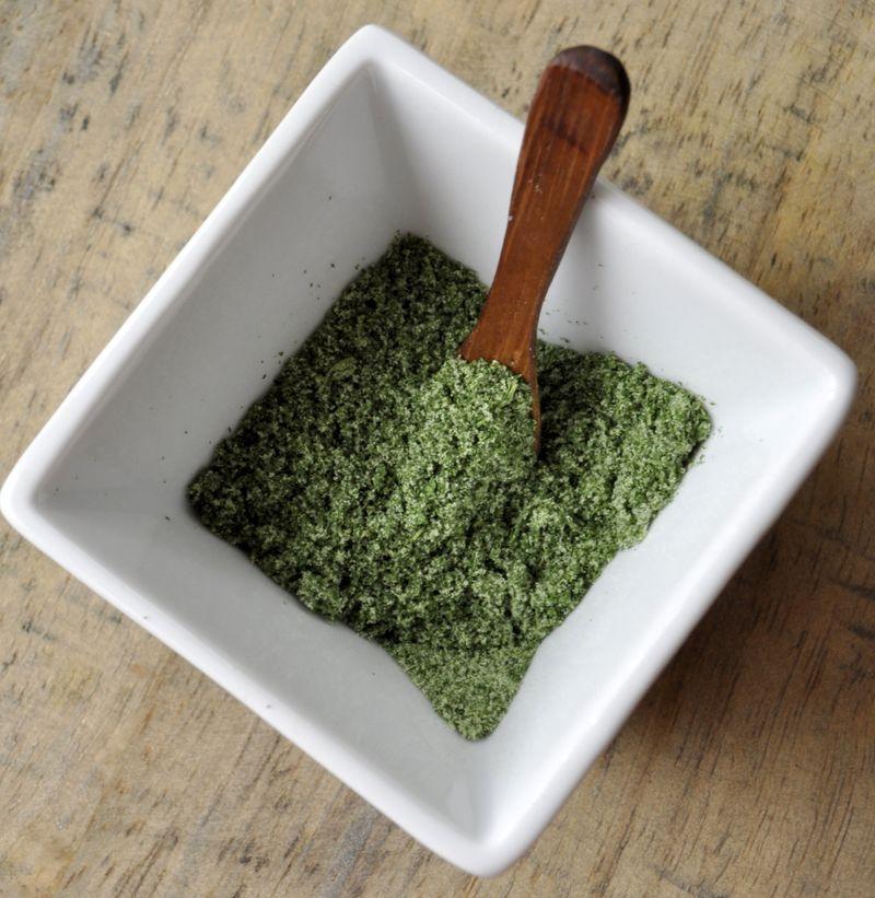 Sel aux herbes persil plat