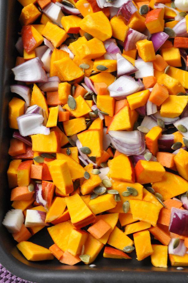 C 39 est moi qui l 39 ai fait panzanella d 39 automne au - Cuisiner les potimarrons ...