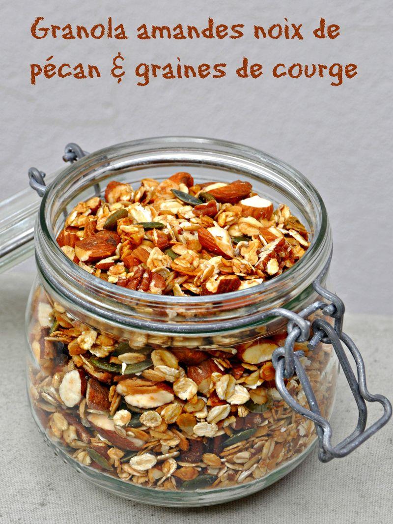 Muesli floconneux  noix de pécan et amandes graines de courge 2
