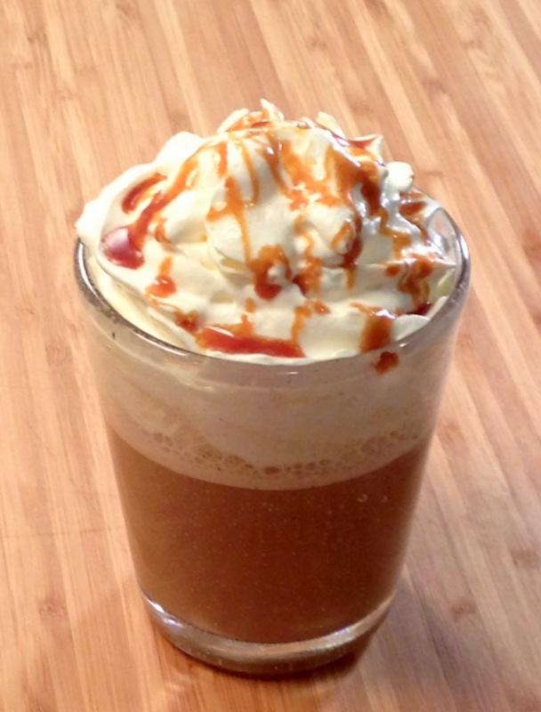 Frappuccino caramel comme chez Starbucks