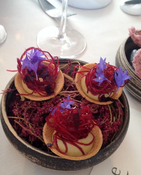 Tartelette creme de moule noirmoutier la marine