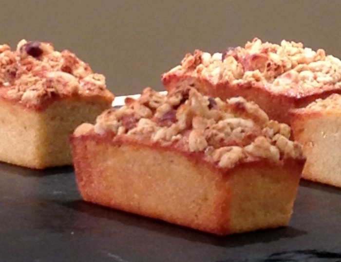 Mini cake pommes