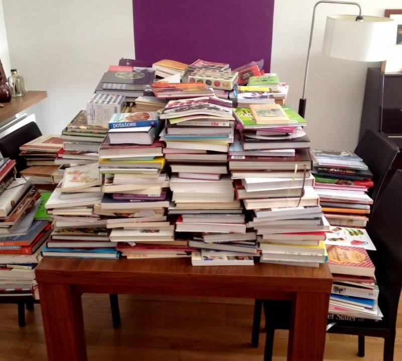 C Est Moi Qui L Ai Fait Comment J Ai Reussi A Trier Mes 580 Livres De Cuisine Garder Vendre Donner