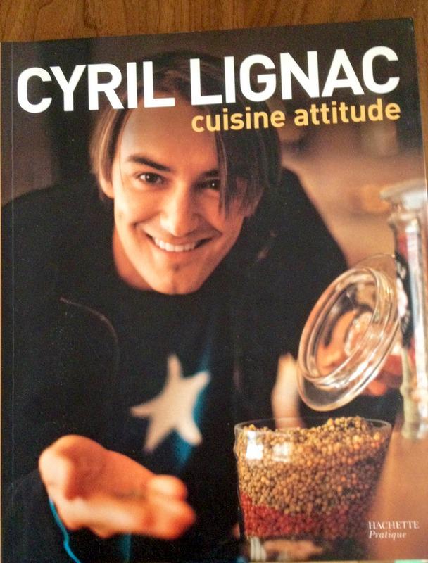 Le premier livre de Cyril Lignac