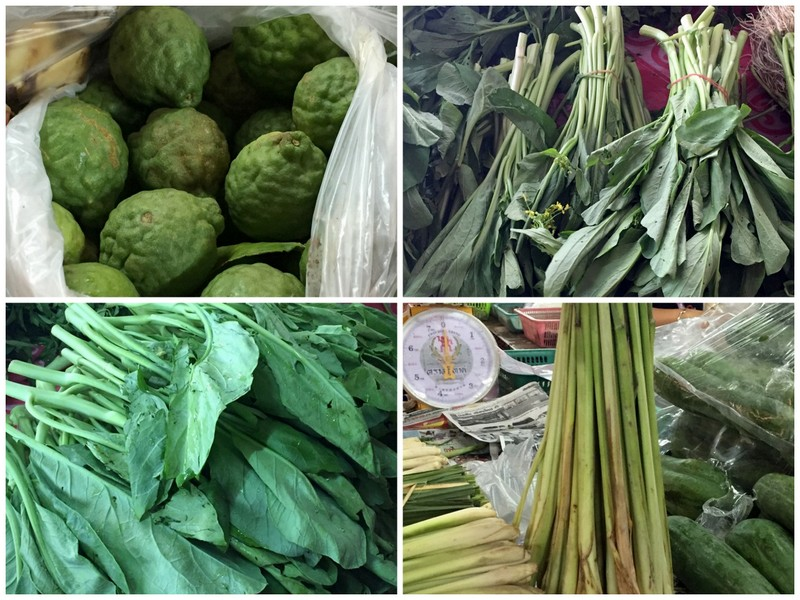 Ingrédients cuisine thai