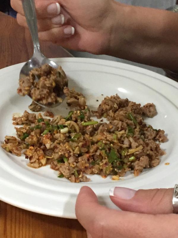 Larb bet salade de canard grillé-001