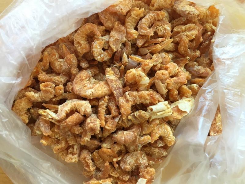 Crevettes sechées