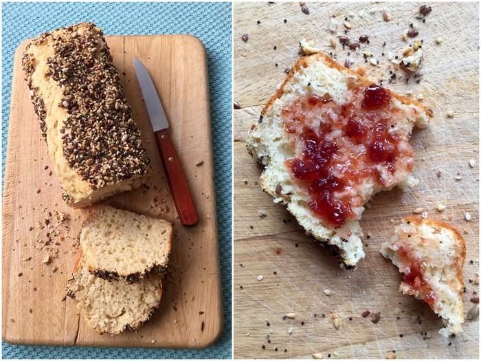 Quick bread buttermilk ou pain magique au lait ribot