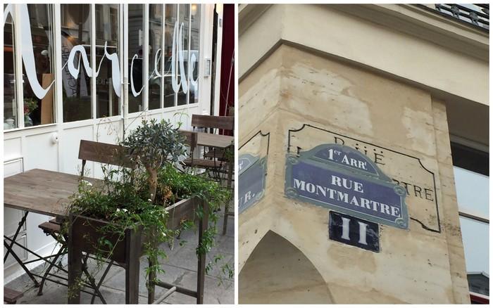 Restaurant marcelle rue montmartre paris 1