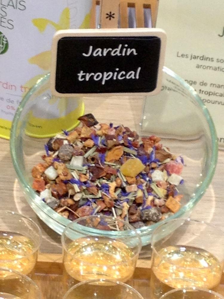 Infusions jardin tropical palais des thés
