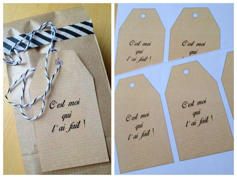 étiquettes pour cadeaux gourmands a telecharger