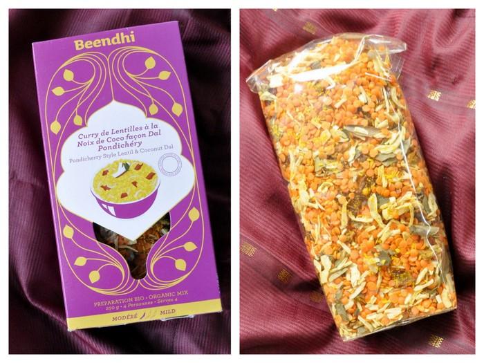 Kit pour curry lentilles corail dal beendhi