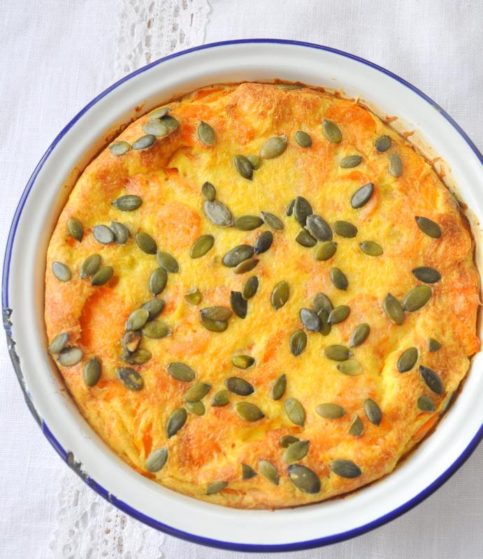 Gratin carottes parmesan épices