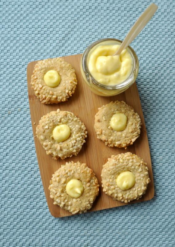 Thumbprint cookies lemon curd