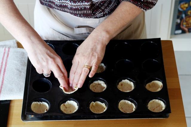 Comment faire des tortillas cups