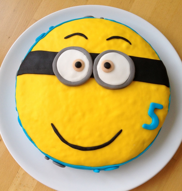 Comment faire un gateau minion facile