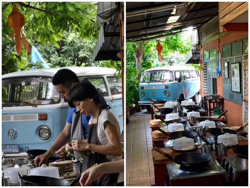 A lot of thai ecole de cuisine thai chiang mai thailande