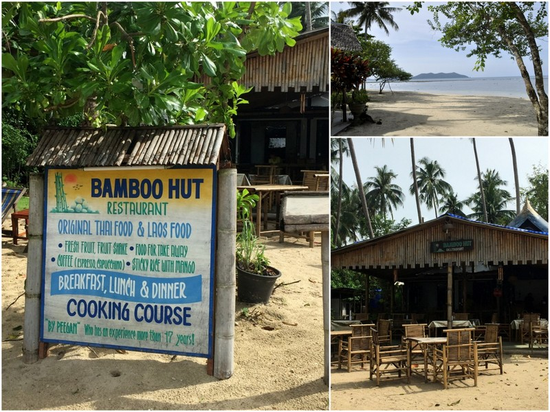 Banboo hut koh chang