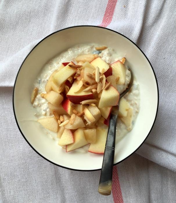 Overnight oats poridge sans cuisson bircher muesli