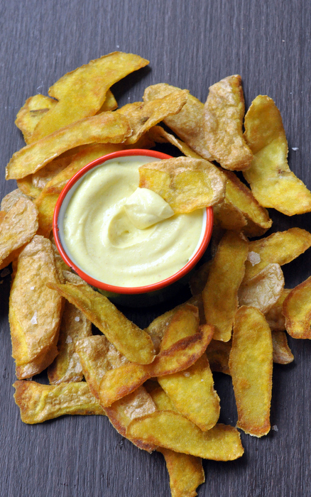 Chips epluchures pommes de terre