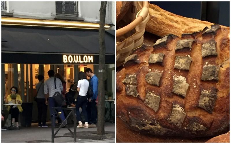 Boulom boulangerie restaurant paris 18