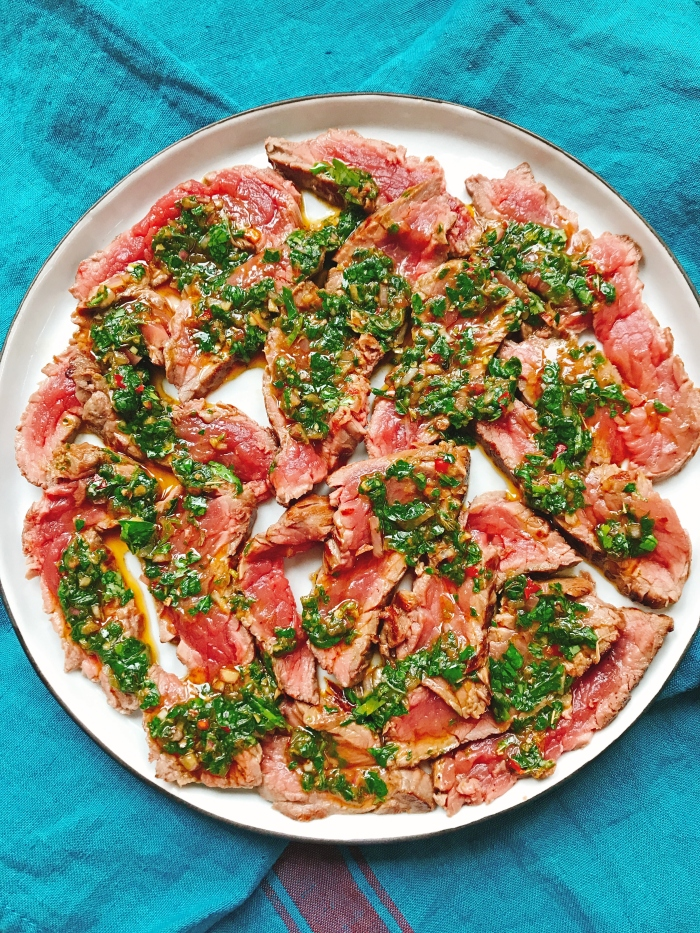 Steak sauce chimichurri