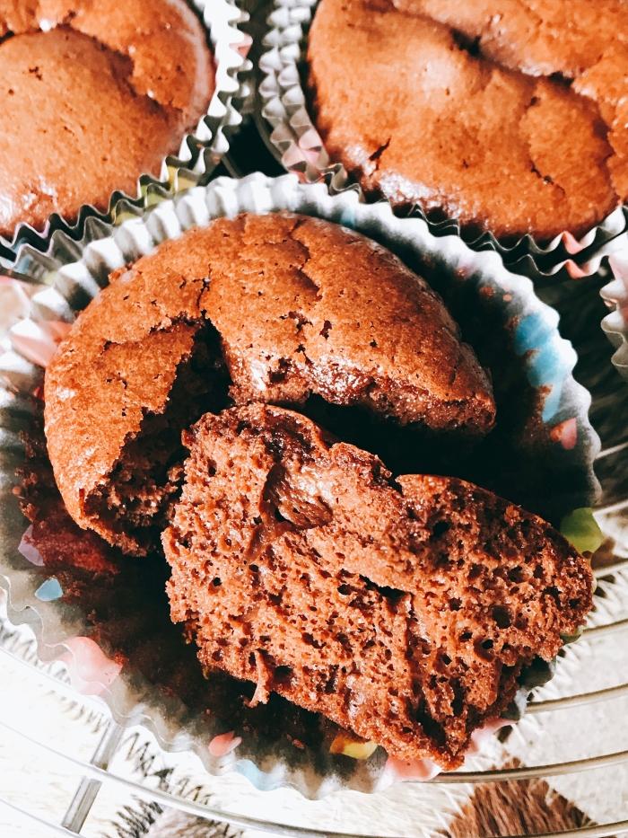 Mini moelleux chocolat sans beurre texture mousse blog