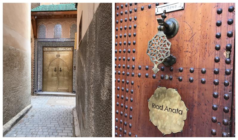 Medina fes deux