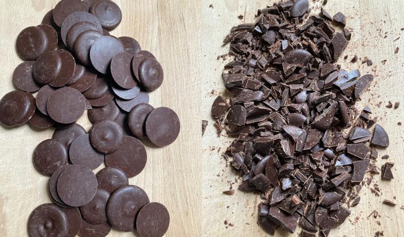 Pastilles chocolat couverture bonnat gamme patisserie