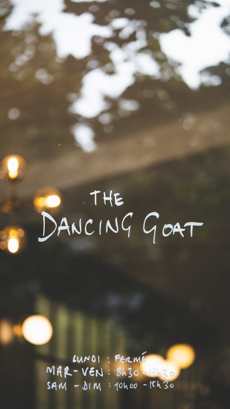The dancing goat coffee shop paris