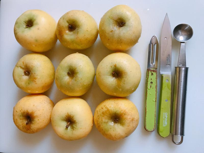 Quelle pomme pour tarte tatin
