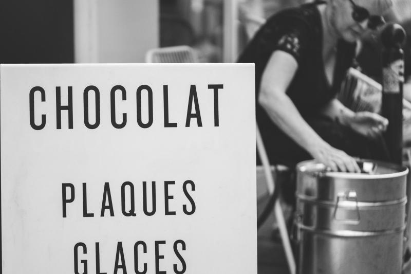Chocolatier plaq rue du nil