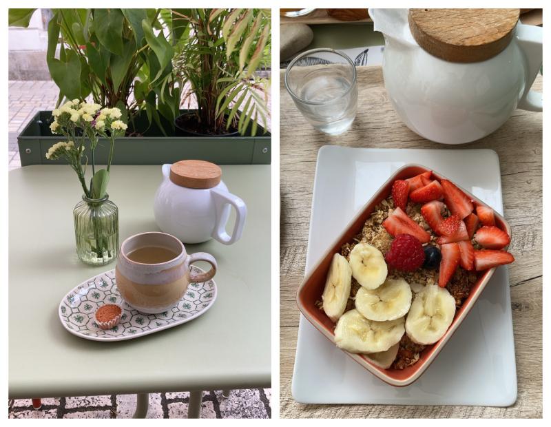 Petit déjeuner le jardin du marche la rochelle