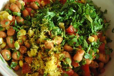 Salade_feves_avant_melange_vue_1