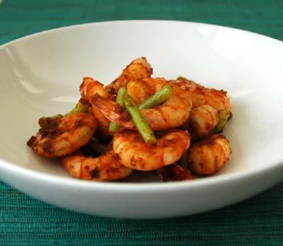 Crevettes_sautees_coeur_ail_pate_de_pime