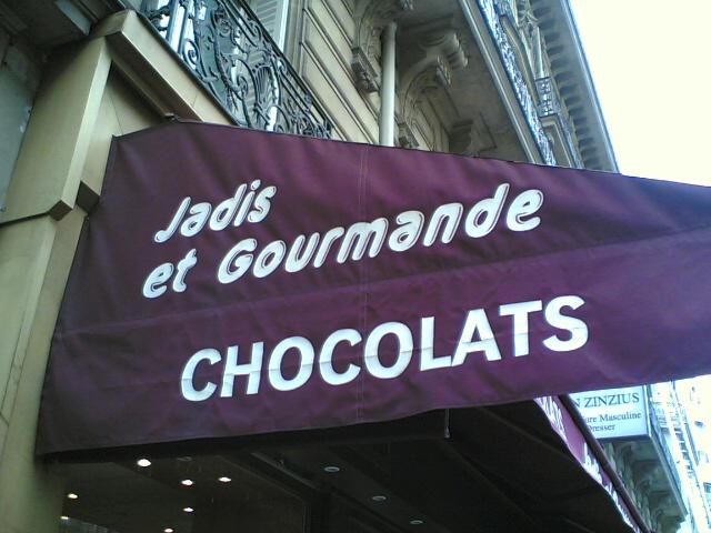 Chocolats .