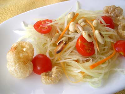 Salade_de_papaye_verte_vue_1